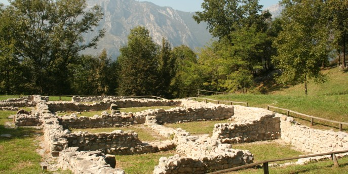 Un'area archeologica unica in Italia