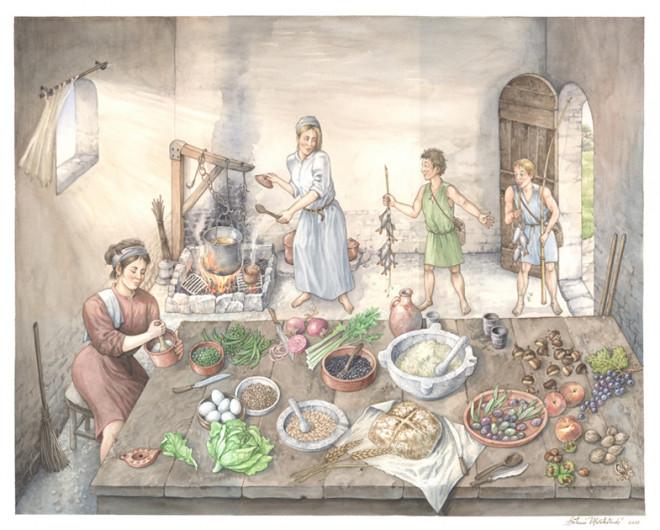 La Notte dei Goti - Il menu della cena